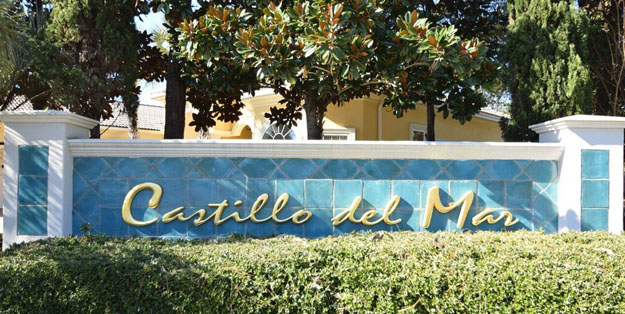 Castillo del Mar Sign