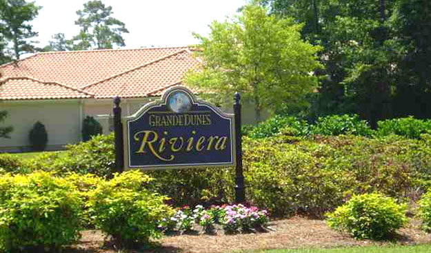Riviera Village Sign