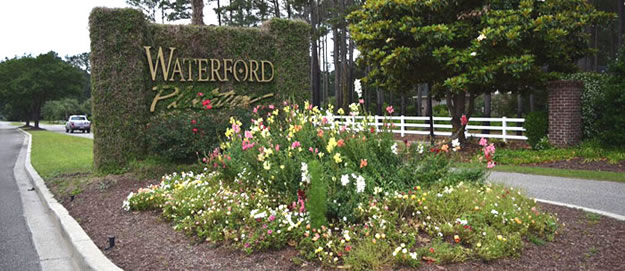 Waterford Plantation Sign